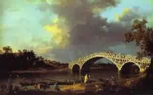 Old walton bridge 1754 xx dulwich picture gallery london uk